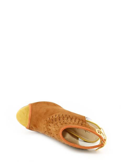 Sandales Mellow yellow Marron sandales / nu-pieds BRAVO vue secondaire 4