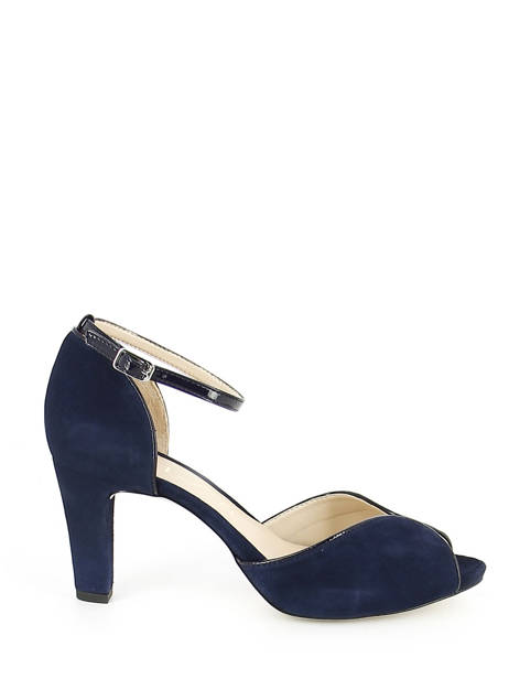Pumps With Strap Unisa Blue escarpins NEAR-PA other view 1