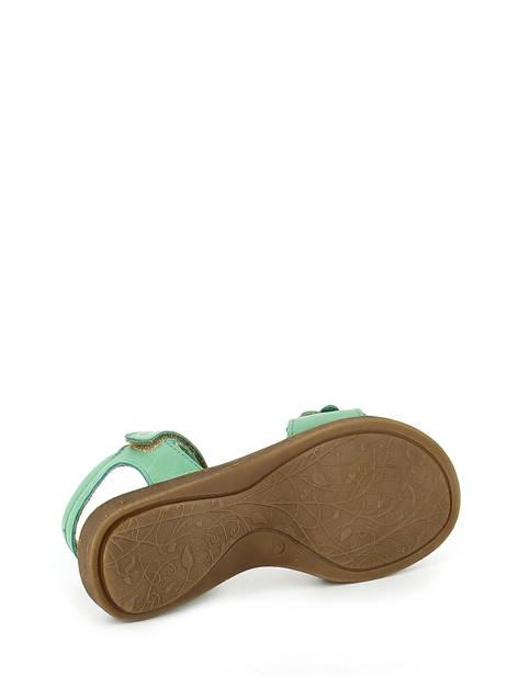Sandales Froddo Vert sandales / nu-pieds G3150091 vue secondaire 5