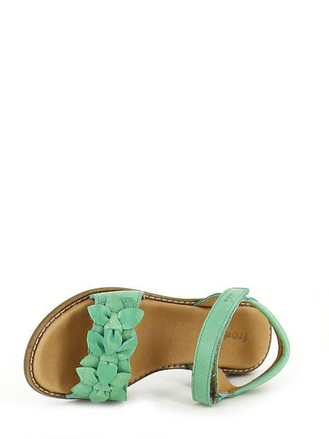 Sandales Froddo Vert sandales / nu-pieds G3150091 vue secondaire 4