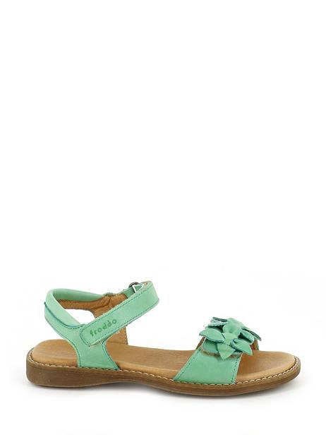 Sandales Froddo Vert sandales / nu-pieds G3150091 vue secondaire 1