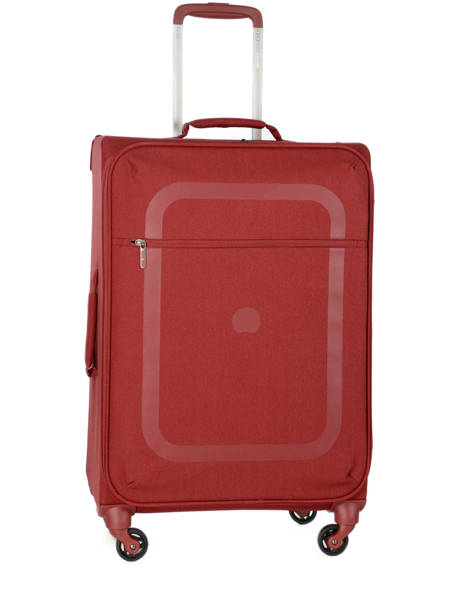 Valise Souple Dauphine 3 Delsey Rouge dauphine 3 2249811