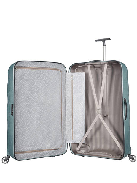 Hardside Luggage Samsonite Blue V22307 other view 6
