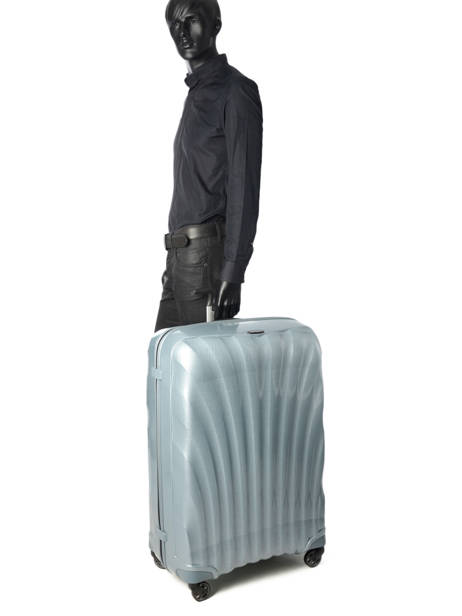 Hardside Luggage Samsonite Blue V22307 other view 4