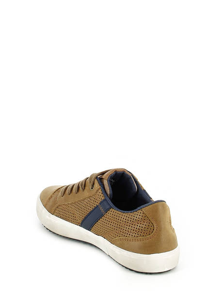 Baskets Geox Marron baskets mode J642CA vue secondaire 3