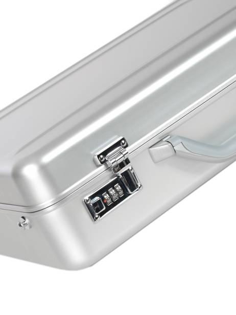 Attache Case 1 Compartiment Davidt's Beige alu 465372 vue secondaire 1