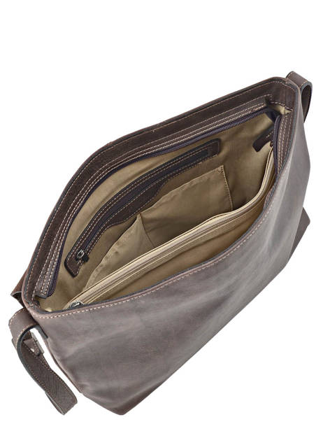 Messenger Bag 1 Compartment Etrier Brown spider S83813 other view 4