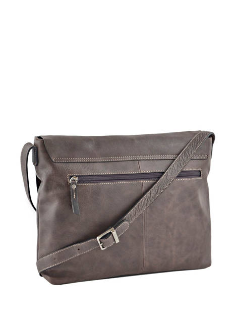 Messenger Bag 1 Compartment Etrier Brown spider S83813 other view 3