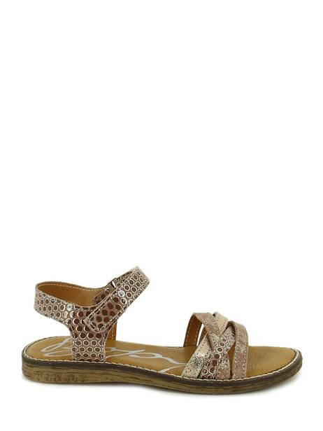 Sandales Bopy Marron sandales / nu-pieds EDITARA vue secondaire 1