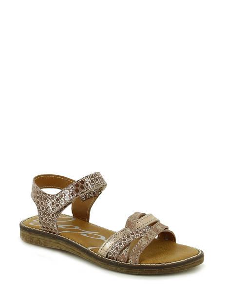 Sandales Bopy Marron sandales / nu-pieds EDITARA