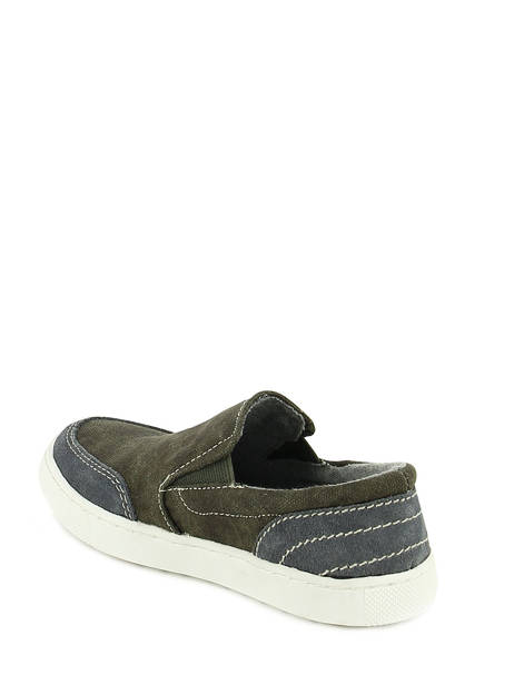 Sneakers Bull boxer Gray baskets mode AEF001 other view 3