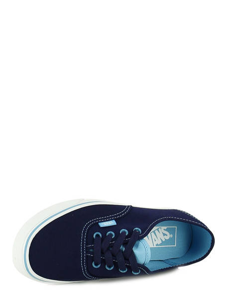 Baskets Vans Bleu baskets mode ZUK vue secondaire 4