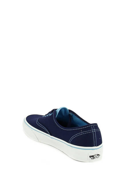 Baskets Vans Bleu baskets mode ZUK vue secondaire 3