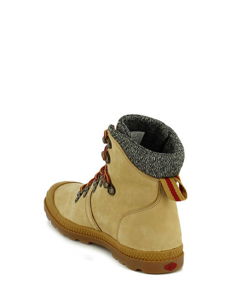 Bottines Palladium Beige boots / bottines 74443 vue secondaire 4