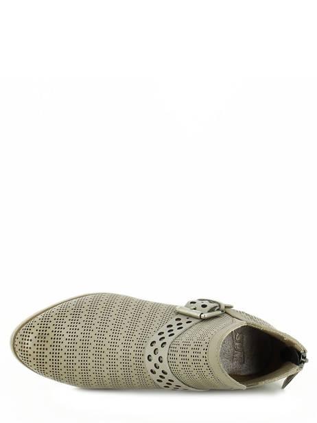 Boots Spm Gris boots / bottines 13156739 vue secondaire 4