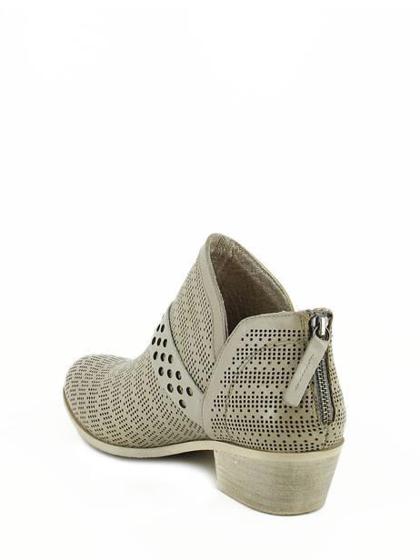Boots Spm Gris boots / bottines 13156739 vue secondaire 3
