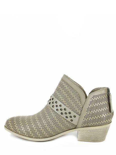 Boots Spm Gris boots / bottines 13156739 vue secondaire 2