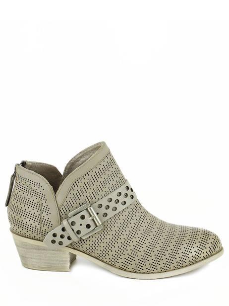 Boots Spm Gris boots / bottines 13156739 vue secondaire 1