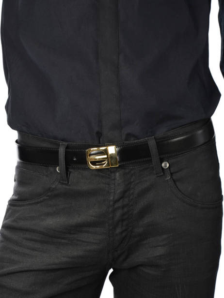 Belt Petit prix cuir Black classic 003 other view 2