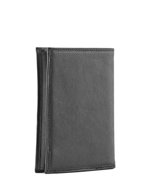 Wallet Leather Katana Black daisy - 00553019 other view 1