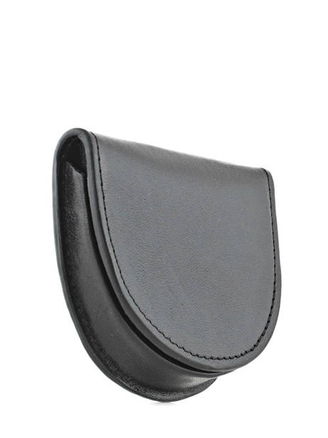 Porte-monnaie Cuir Spirit Noir medium 6741 vue secondaire 1