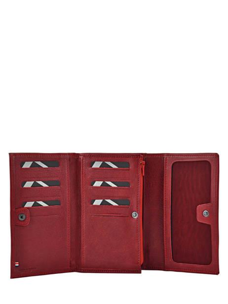 Porte-monnaie Cuir Etrier Rouge blanco 600600 vue secondaire 2