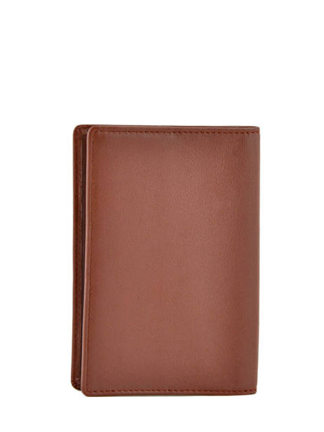 Wallet Leather Hexagona Brown soft 221020 other view 1