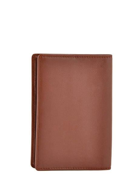Porte-papiers Cuir Hexagona Marron soft 221020 vue secondaire 1