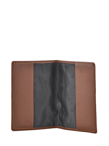 Wallet Leather Hexagona Brown soft 221020 other view 2