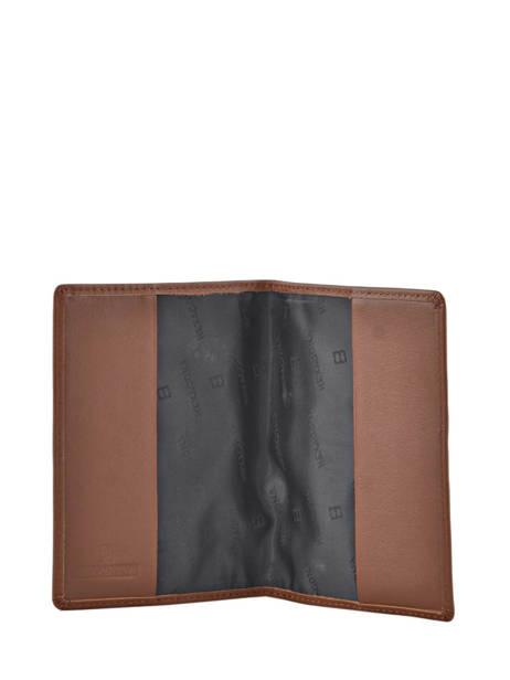 Porte-papiers Cuir Hexagona Marron soft 221020 vue secondaire 2