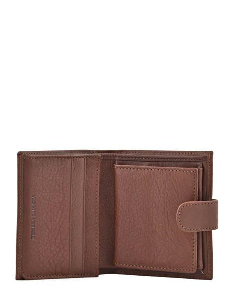 Porte-monnaie Cuir Petit prix cuir Marron elegance SA903 vue secondaire 2
