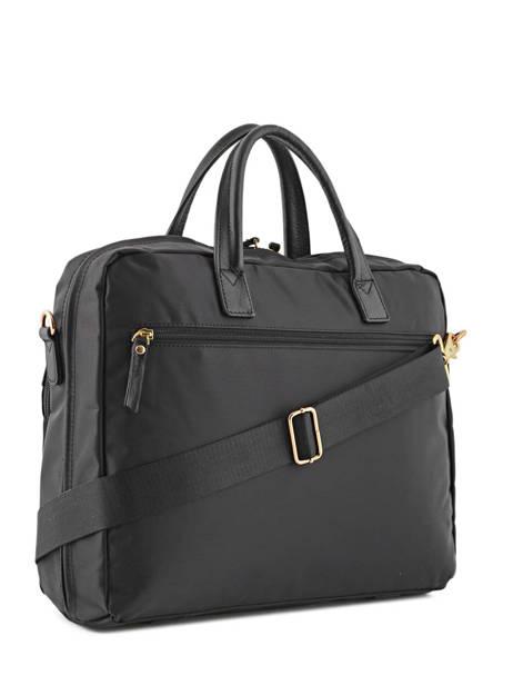 Briefcase 2 Compartments + 15'' Pc Etrier Black plum PL11064 other view 3