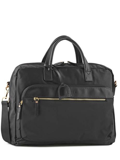 Briefcase 2 Compartments + 15'' Pc Etrier Black plum PL11064