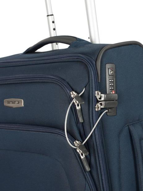 Valise Cabine Samsonite Bleu spark sng 65N006 vue secondaire 1