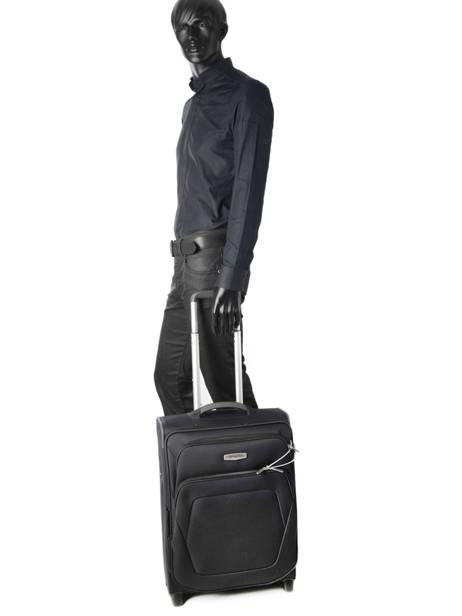 Cabin Luggage Samsonite Black spark sng 65N001 other view 2