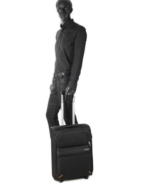 Valise Cabine American tourister Noir summer voyager 29G001 vue secondaire 2