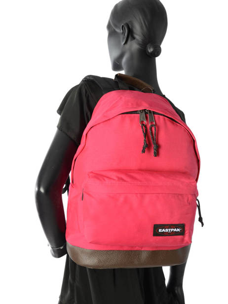 Backpack 1 Compartment Eastpak Red pbg authentic PBGK811 other view 2
