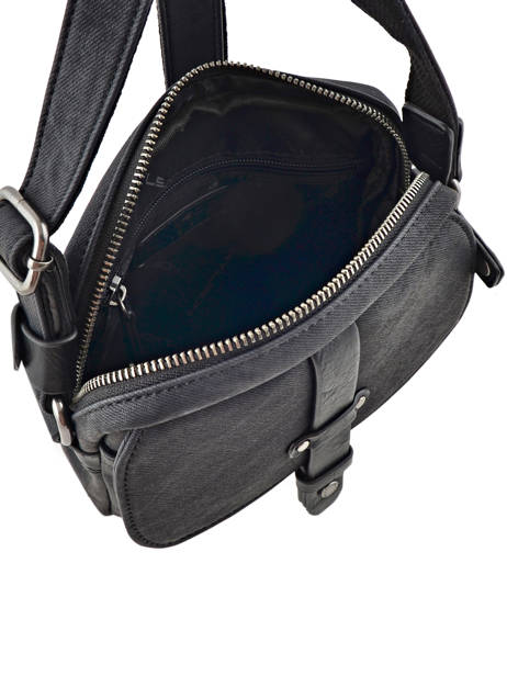 Messenger Bag Wylson Black harbour W8176-2 other view 4