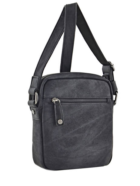 Messenger Bag Wylson Black harbour W8176-2 other view 3