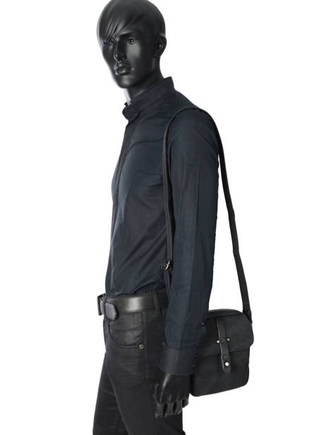 Messenger Bag Wylson Black harbour W8176-2 other view 2