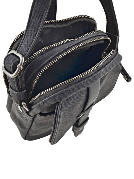 Messenger Bag 2 Compartments Wylson Black harbour W8176-3 other view 4