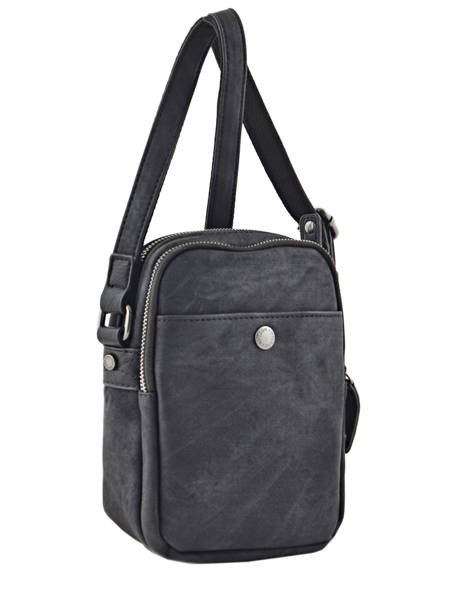 Messenger Bag 2 Compartments Wylson Black harbour W8176-3 other view 3