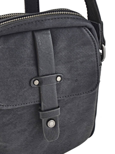 Messenger Bag 2 Compartments Wylson Black harbour W8176-3 other view 1
