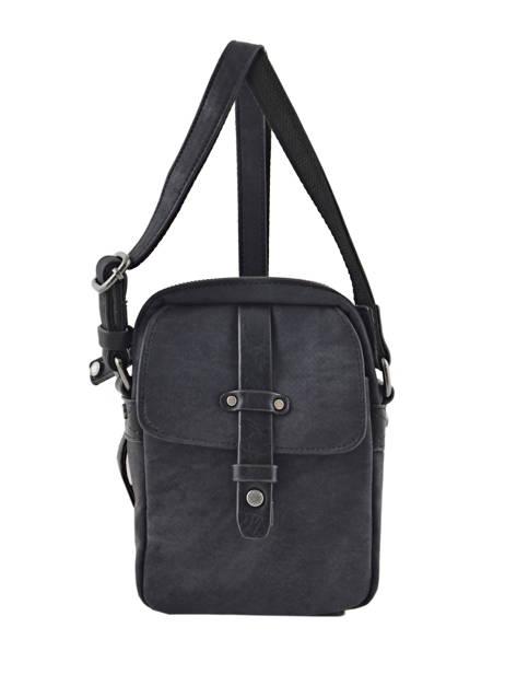 Messenger Bag 2 Compartments Wylson Black harbour W8176-3