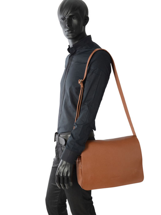Longchamp Le foulonné Briefcase Brown