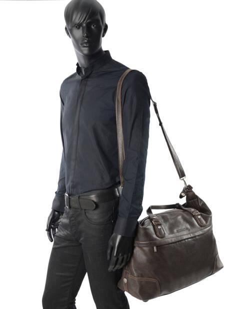 Travel Bag Destroy Arthur et aston Black destroy 62-1068 other view 2