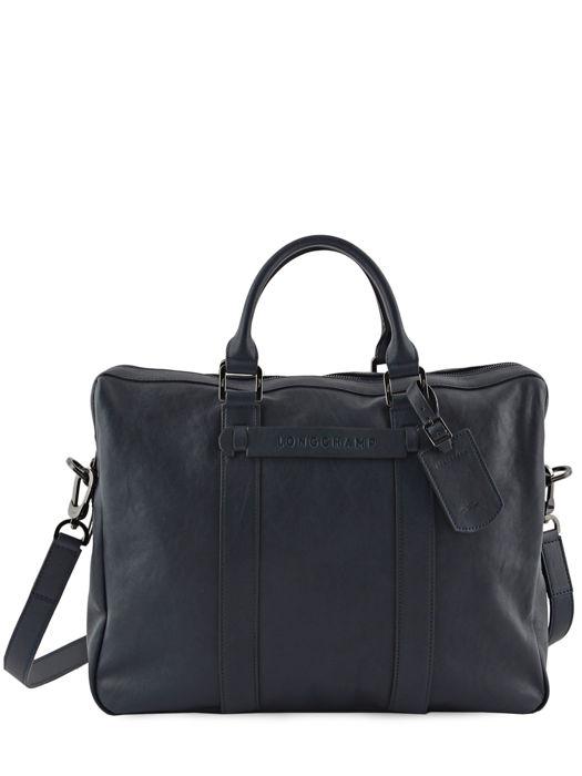 Longchamp Longchamp 3d Briefcase Blue