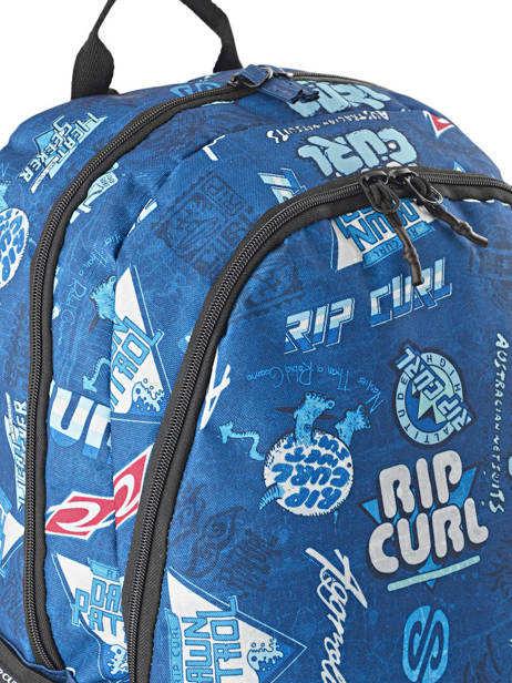 Sac à Dos 2 Compartiments Rip curl Bleu heritage logo BBPIX4 vue secondaire 1