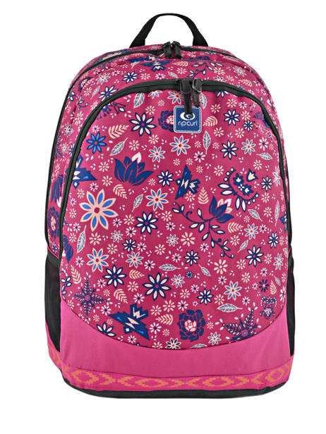 Backpack 2 Compartments Rip curl Red mandala LBPJS4