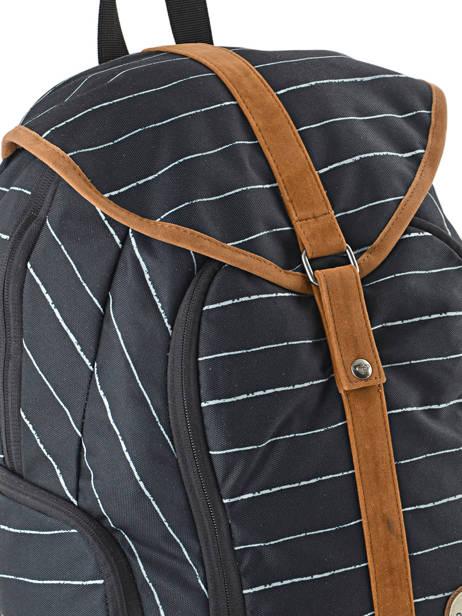 Sac à Dos 1 Compartiment Roxy Noir back to school soul RJBP3539 vue secondaire 1